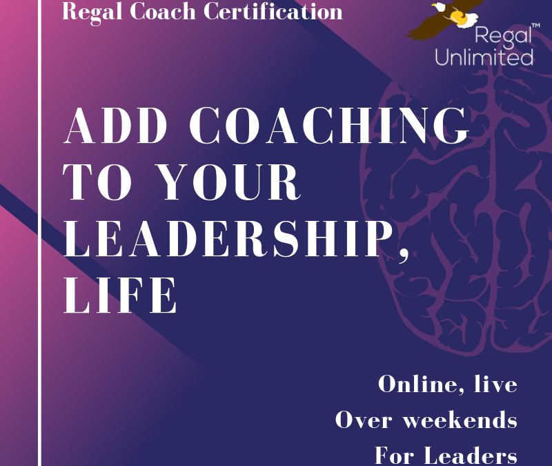 Coach Training for corporate leaders, professionals – #RCC Program