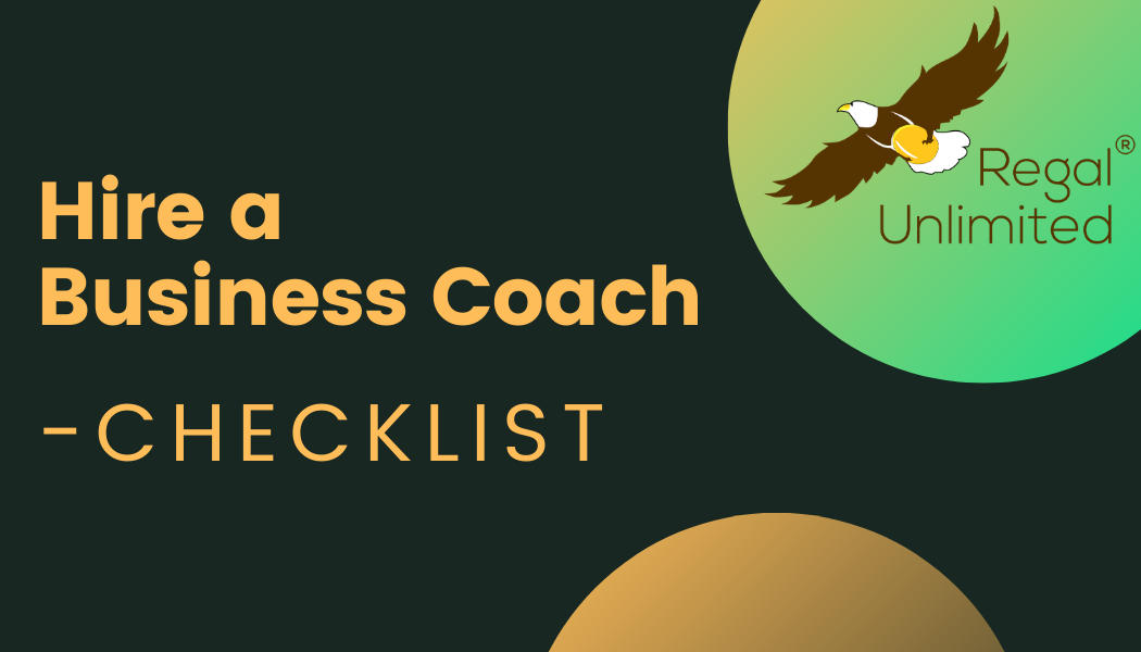 Your Checklist before Hiring a Business Coach