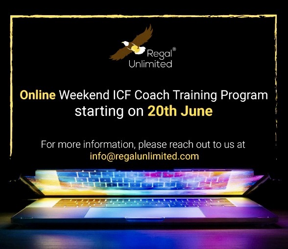 ICF Coach Training, Certification – Online/live weekend batch