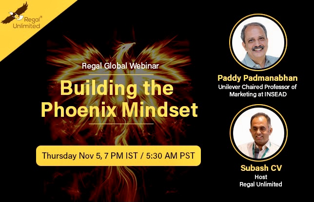 Building the Phoenix Mindset- A Regal Global Webinar: Karan Kumar